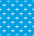 railroad crossing pattern seamless blue vector image vector image