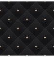 Seamless luxury dark black pattern and background vector image vector image