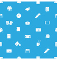 data storage media blue and white pattern eps10 vector image vector image