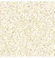 gold glitter corners for frame or border vector image vector image