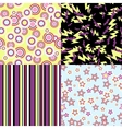 kawaii patterns halloween related objects vector image vector image