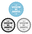 Satisfaction guaranteed stamps set vector image vector image