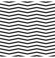 small zigzag wave lines seamless pattern vector image vector image