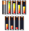 Battery Level vector image vector image
