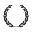 laurel wreath icon isolated vector image vector image