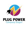 Plug Power Design vector image vector image