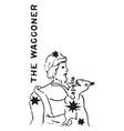 the waggoner vintage vector image vector image