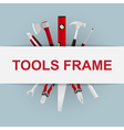 tools frame 6 vector image vector image