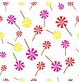 Lollipops seamless pattern vector image
