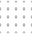air balloon icon pattern seamless white background vector image vector image