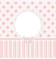 bapink floral background vector image