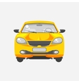 Car hatchback front view vector image vector image