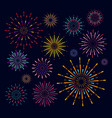 collection colorful festive vector image