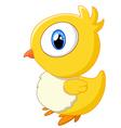 Cute baby chicken vector image vector image