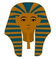 egypt pharaoh on white background vector image