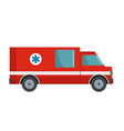 first aid icon flat style vector image vector image