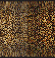 gold mosaic halftone abstract background vector image vector image