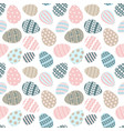 happy easter greeting seamless pattern vector image vector image