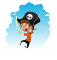 pirate guy vector image vector image