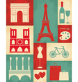 Retro paris poster vector | Price: 3 Credits (USD $3)