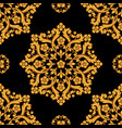 seamless damask pattern background vector image