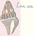 SeaShell15 vector image