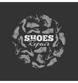 shoes repair vector image vector image