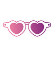 summer sunglasses isolated icon vector image vector image