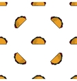 Tacos flat pattern vector image vector image