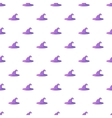 Witch hat pattern cartoon style vector image