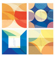 abstract architecture background with geometric