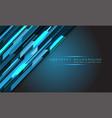 abstract blue light hi-tech technology polygon vector image