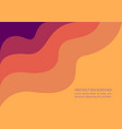 abstract gradient background template for design vector image vector image