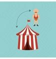 amusement park design vector image vector image