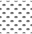 bee pattern seamless vector image