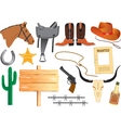 Cowboy elements vector | Price: 3 Credits (USD $3)