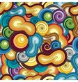 endless cartoon pattern vector image