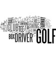 is your golf driver a little dusty text vector image vector image