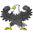 Strong eagle vector image