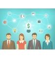 Modern Business Team Start up vector image