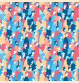 social people group seamless pattern background vector image