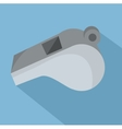 whistle referee d icon vector image