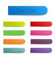 Set Stickers vector image