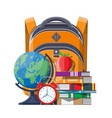 education target and study concept vector image