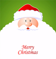 Happy Santa Claus vector image