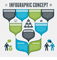 Infographic Concept vector image vector image