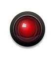 red alarm light bulb