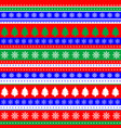 wrapping paper seamless pattern for christmas vector image