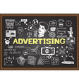 Advertising vector image vector image