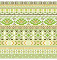 aztec american indian pattern tribal ethnic motifs vector image